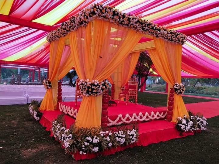Indian Mandap Decoration